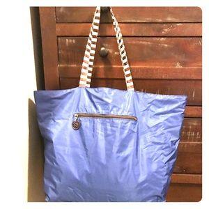 Henry Bender reversible beach bag.